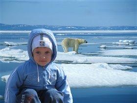 Я на Северном полюсе