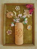 Натюрморт 'Ваза с цветами'