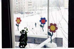 Зимние цветы