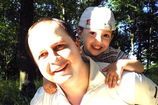 Мой папа лучший в мире папа!