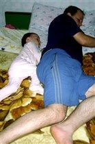 Ох и денек, уснули без задних ног!