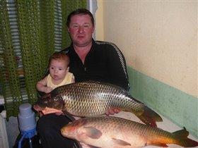 Папа Я и рыба