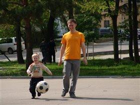 Папа и лучший друг, и тренер!