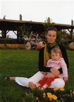 Я и дочка в Турции 2008г