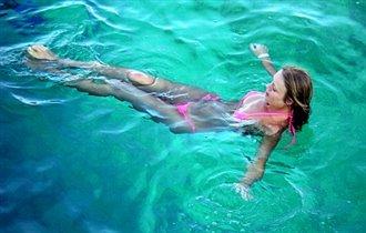 Глубокое сине-зеленое море