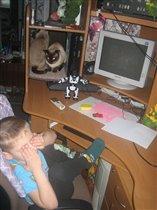 Дети! Не играйте долго за компьютером!
