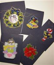 Новогодние открытки (2007 год)