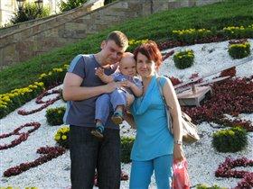 Цветочные часы, цветущая семья
