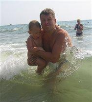 Папа держи меня!