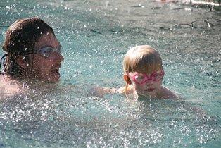 семейная олимпийская команда пловцов!
