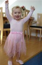 моя племянница-балеринка