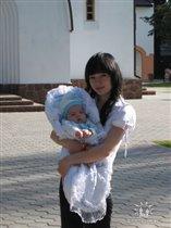 на крещении нашего малыша