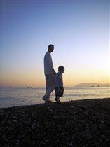 Прогулка по берегу Черного моря
