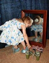 Однозначно! Голубые туфли сюда лучше!