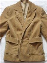 пиджак вильвет