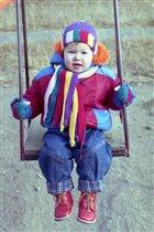 Шапочка и шарфик. 2000 год