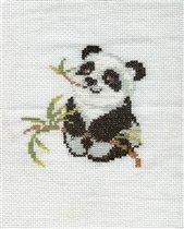 Панда. Первая работа Полины