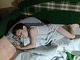 Кирилл спит