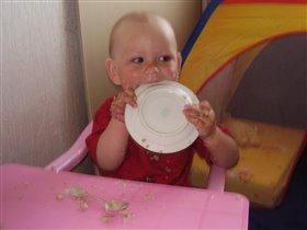 Очень вкусная каша даже тарелку сьем!!!