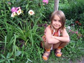 На даче. Август 2008 г.