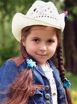 'Маленькая ковбойка!'