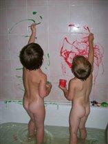 Юные художники)))