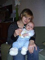 Лёшка с мамочкой!