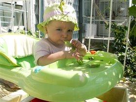 А на обед у нас салат...