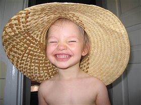 Соломенная шляпка...