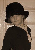 Ничто так не украшает девушку, как мамина шляпка :)