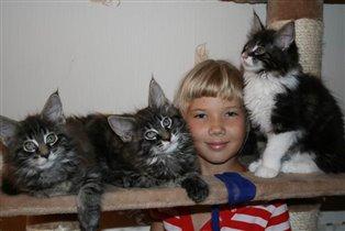 Дети кошачьи и человечьи