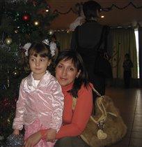 Я с дочей