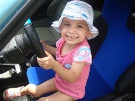 первые уроки вождения