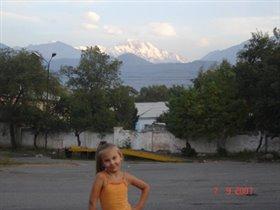 По дороге в Талгар