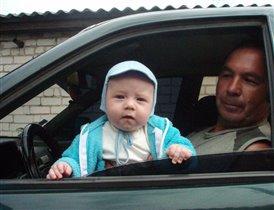 2 поколения-гонщик маленький и большой
