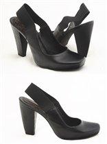 Женские туфли с открытой пяткой