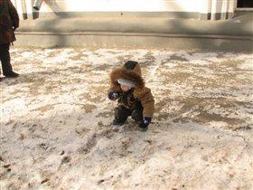 мама неужели снежок.