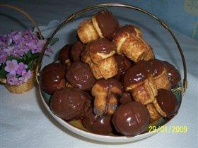 Печенье 'Грибочки' (очень мягкие)