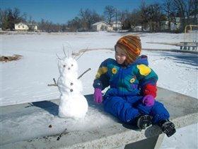 Оклахомский снеговик
