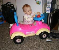 Что-то кручу, кручу руль, а она не едет!