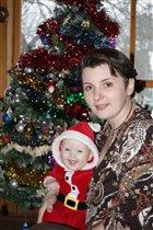 Елка, я и мама