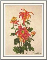 Поэзия восточного сада. Хризантема.