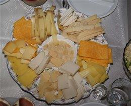Сырная тарелка НГ 2009