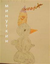 Женин снеговик