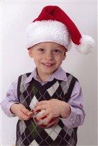 Мой маленький Санта :))