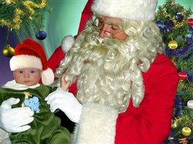 Дед Мороз и Киря!!!