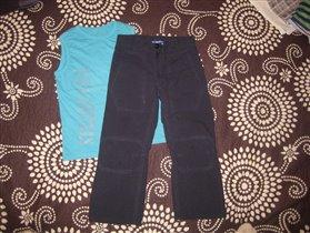 брюки нортонс +майка