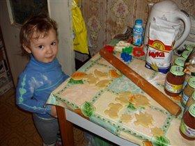 Новогоднее печенье от Ленуськи!