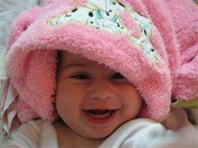 'день со счастья начинается-Счастье маме улыбается'