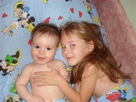 Мои обожаемые дети :)